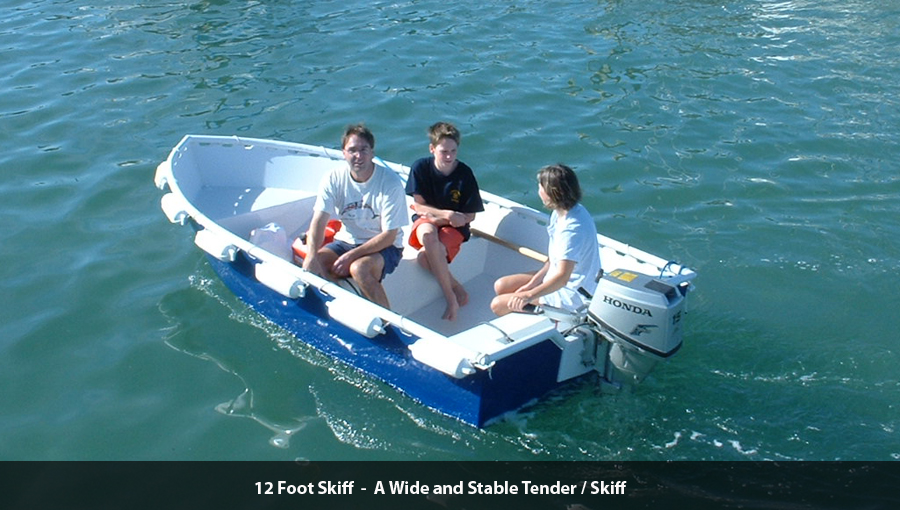 12 Foot Skiff - Metal Boat Kits